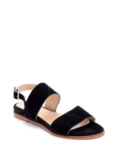 Derimod Kadın Sandalet (7601) Casual Siyah